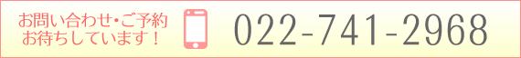 電話番号 022-741-2968